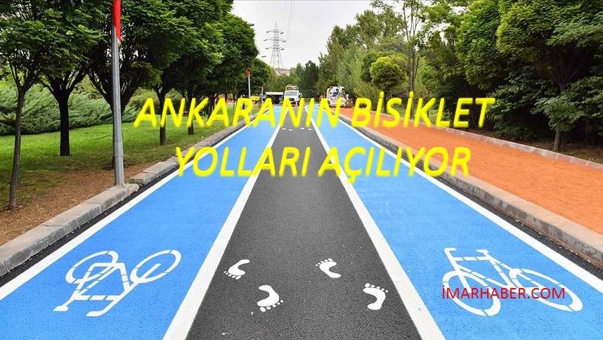 Ankara'ya Bisiklet Yolları Geliyor