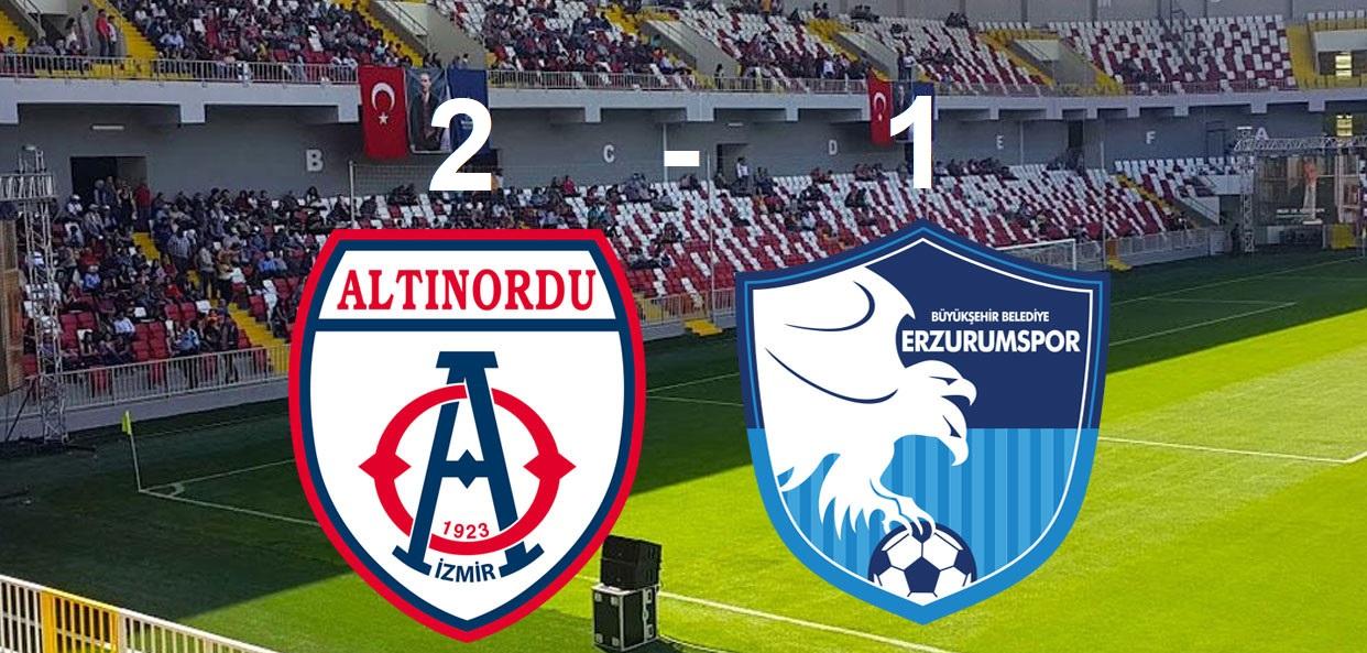 Altınordu Erzurumspor Maç Özeti