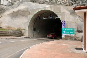 Amasya Ferhat Tüneli Trafiğe Açıldı