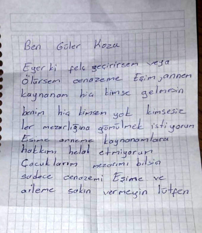 Bursa'da Acı İntihar