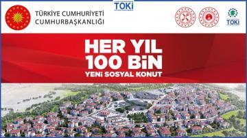 Aydın'da Toki Konutları 560 TL Taksitle Satışta