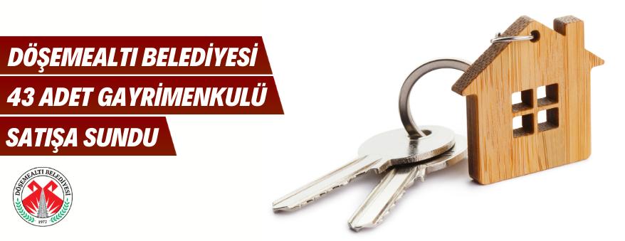 Antalya Döşemealtı'nda 42 Adet Kiralık Dükkan