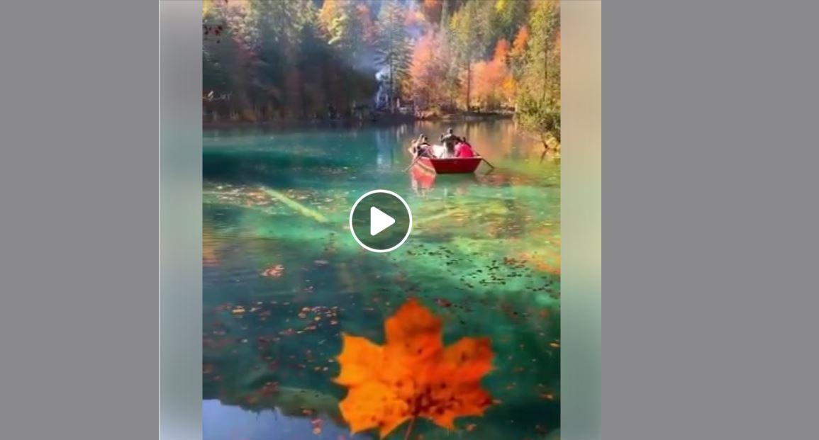 Muhteşem Manzarasıyla Blausee Gölü