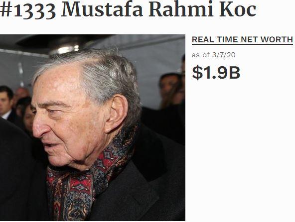 Türkiye En Zenginler Listesi