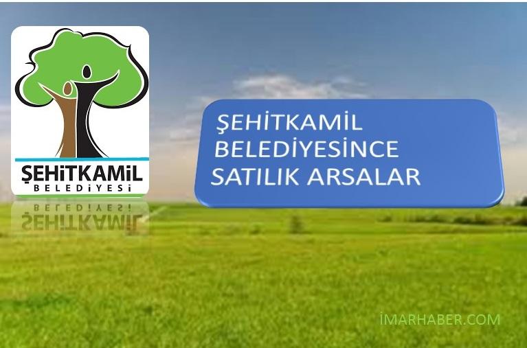 Gaziantep Şehitkamil Belediyesi İmarlı Arsa Satışı