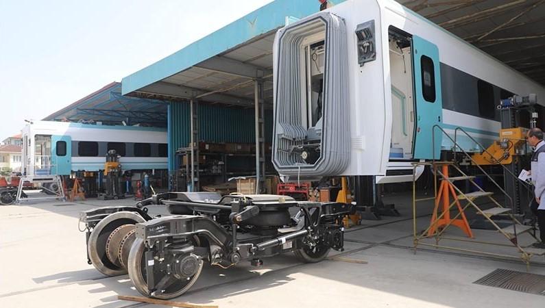 Milli Elektrikli Tren 29 Mayıs'ta Raylarda