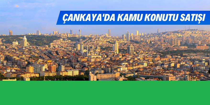 Ankara Çankaya'da 398 Adet Lojman Satışta