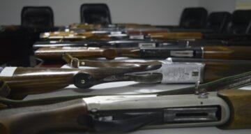 Eskişehir'de Ele Geçirilen Av Tüfekleri Satışta