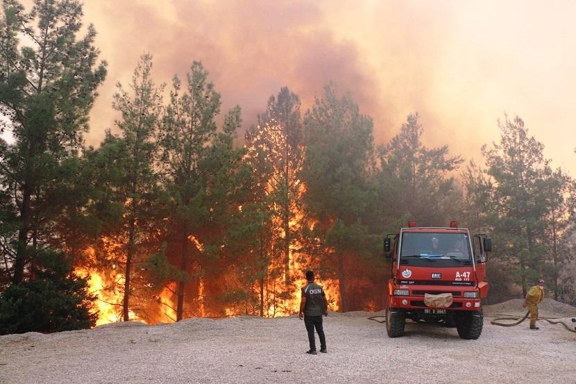 Adana Kozan Yangını Kontrol Altına Alındı