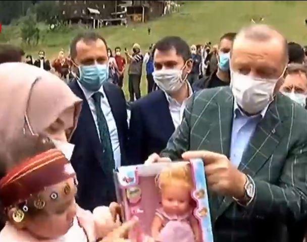 Erdoğan'dan Ayder Yaylasına Ziyaret