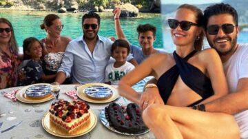 Ebru Şallı Eşinin Doğum Gününü Böyle Kutladı