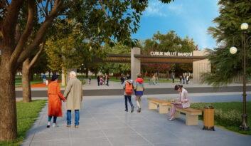 Ankara Çubuk'da Millet Bahçesi Yapımına Başlanıyor