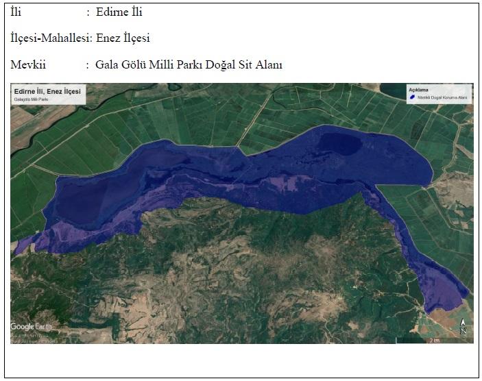 """Gala Gölü """"Nitelikli Doğal Koruma Alanı"""" Olarak Tescillendi"""