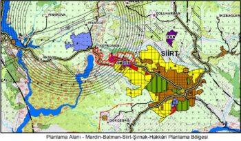 Mardin-Batman-Siirt-Şırnak-Hakkari Planlama Bölgesi Çevre Düzeni Planı Değişikliği