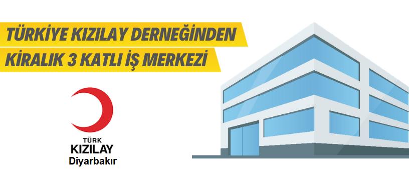 Diyarbakır Kızılay 3 Katlı İş Merkezini Kiraya Verecek