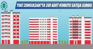 Zonguldak Toki 269 Adet Konut Satışı