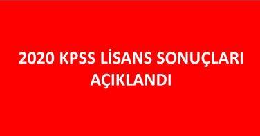 KPSS 2020 Lisans Sonuçları Açıklandı