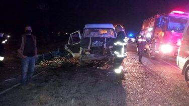 Afyon Sandıklı'da Trafik Kazası!
