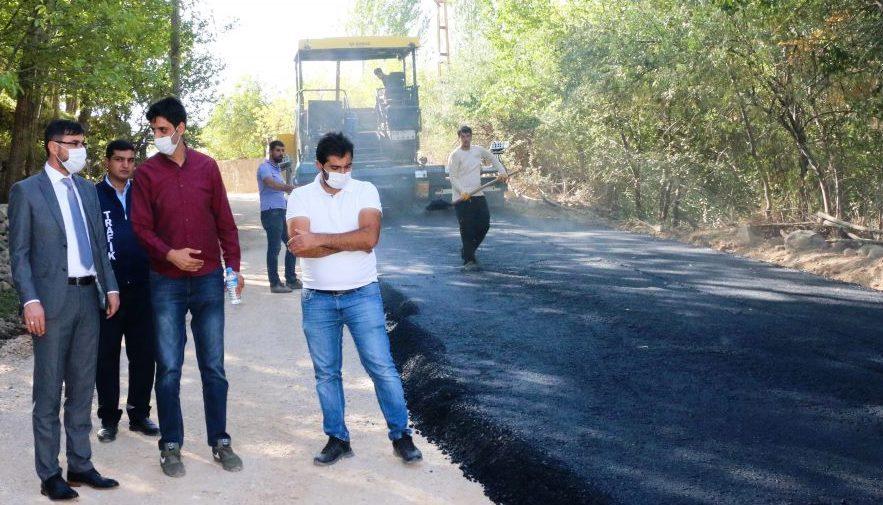 Bitlis Belediyesi Asfalt Çalışmalarına Başladı