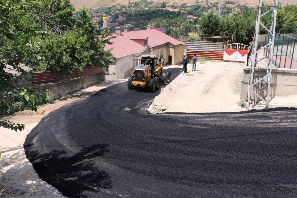 Bitlis Belediyesi Asfalt Çalışması
