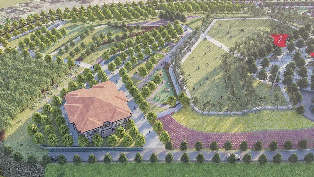 Bursa Osmangazi Gökdere'de Millet Bahçesi Yapımına Başlanıyor