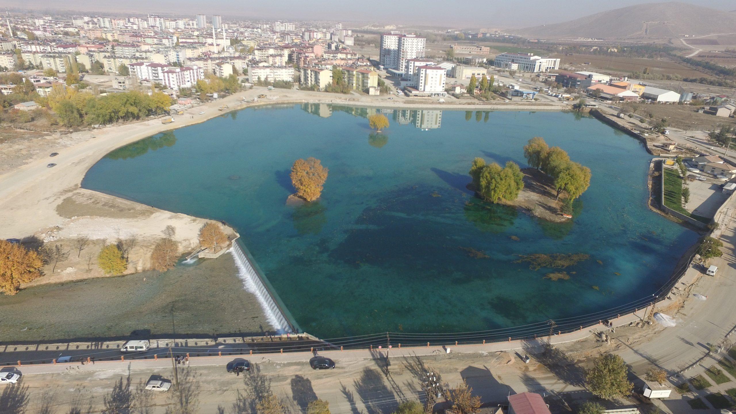 Dünyanın En Büyük Biyolojik Havuzu Elbistan'da