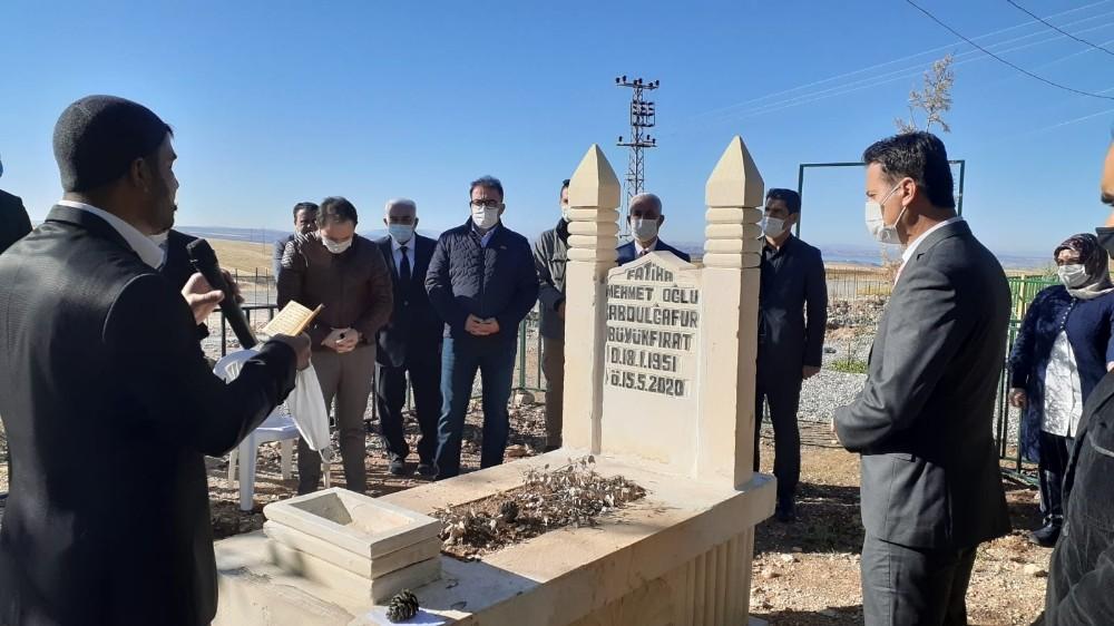 Abdulgafur Büyükfırat mezarı başında anıldı