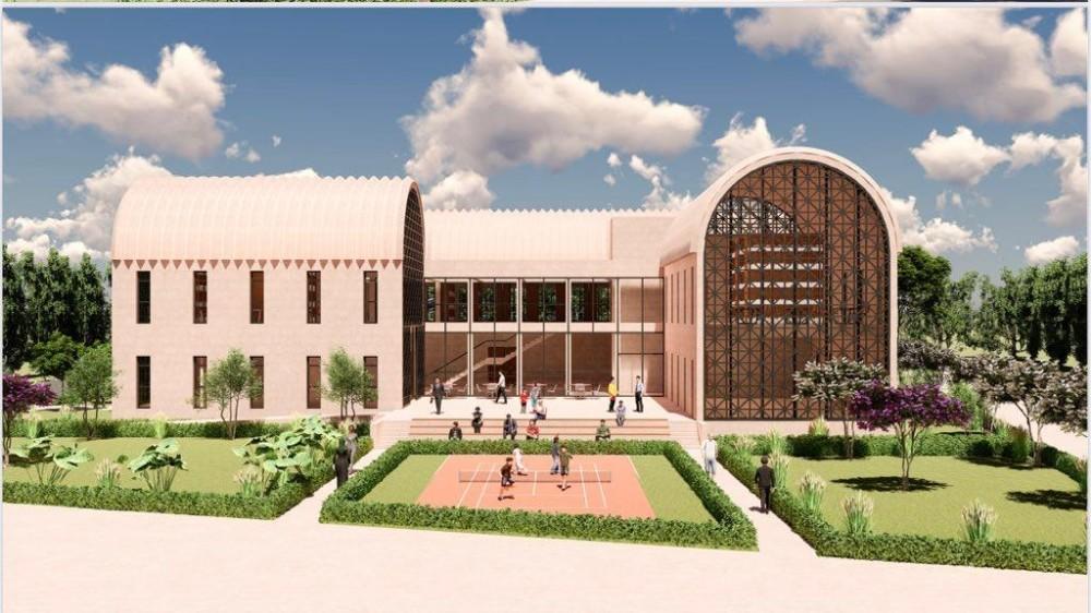 Midyat'a Modern Kütüphane