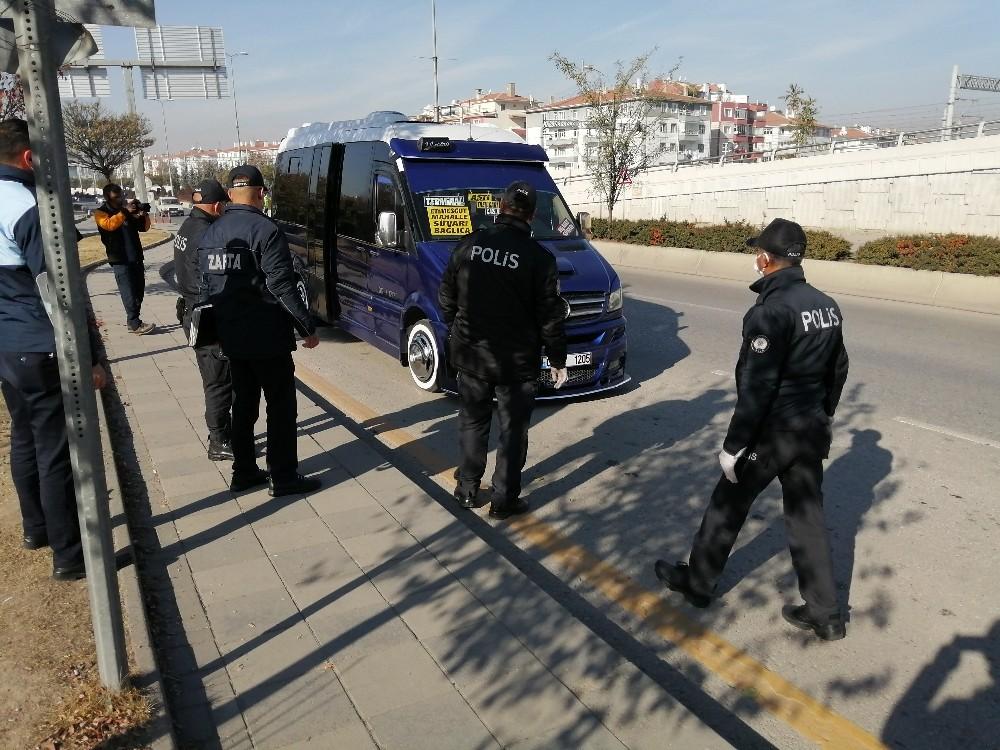 Ankara Toplu Taşıma Araçlarında Koronavirüs Denetimi