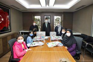 Gaziantep Şehitkamil'de Annemle Okuyorum Projesi Ödülleri Dağıtıldı