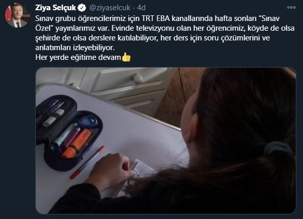 Sınav Grubu Öğrencileri TRT EBA Kanallarında Hafta Sonları Sınav Özel Yayınlarını İzleyebilir