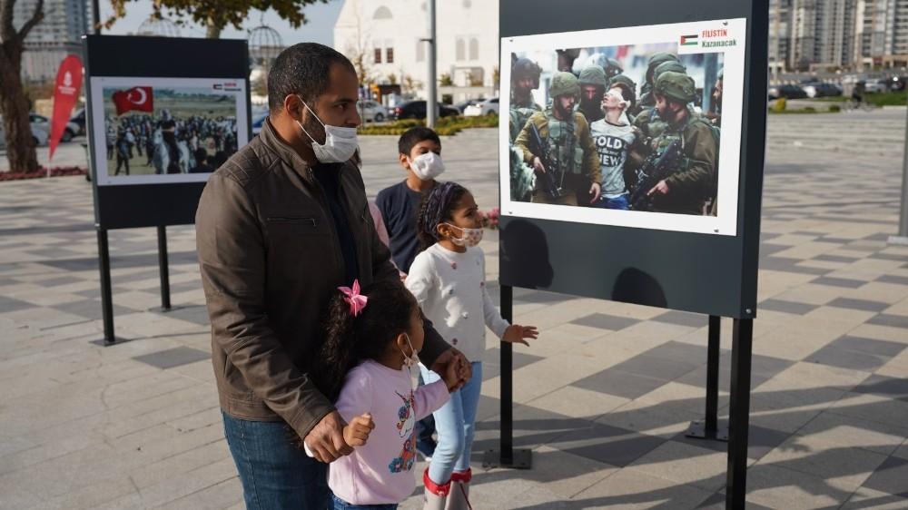 Başakşehir'in Kalbi Filistin İçin Attı