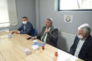 Çorum Belediye Başkanı İşadamlarıyla bir araya geldi