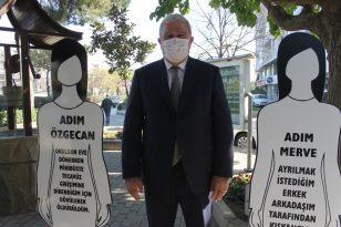 Başkan Atay, kadına karşı şiddete dikkat çekti