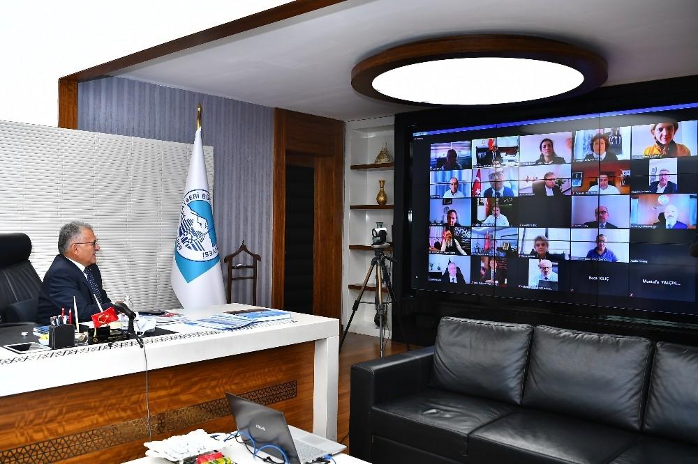 """Başkan Büyükkılıç: """"Üniversiteler ile işbirliği geliştirilmeli"""""""