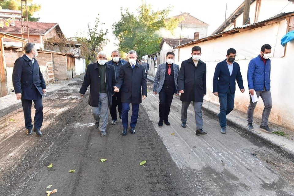 Başkan Çınar, yatırımları inceledi