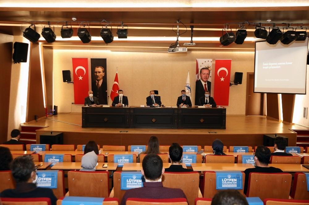Başkan Yalçın'dan 'ortak akıl' toplantısı