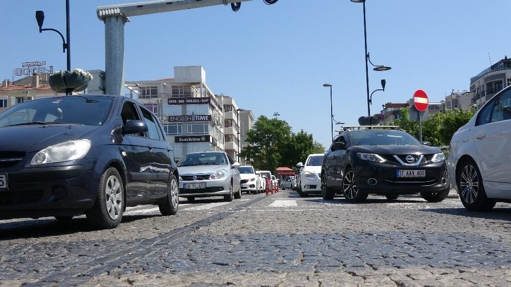 Çanakkale'de trafiğe kayıtlı araç sayısı 238 bin 505 oldu