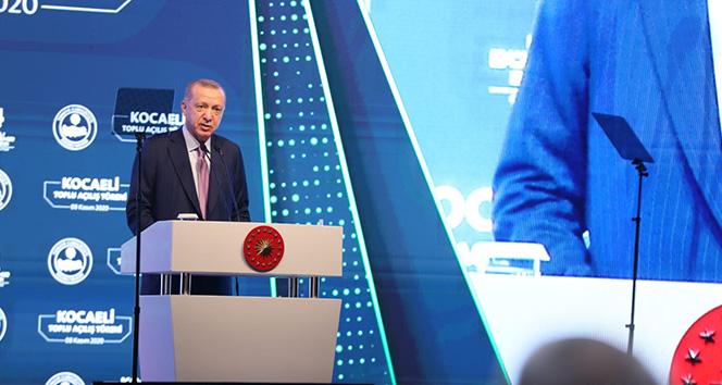 Cumhurbaşkanı Erdoğan Kocaeli'nde Toplu Açılış Töreni Gerçekleştirdi