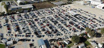 Denizli'de araç sayısı 1 yılda yüzde 3,5 arttı