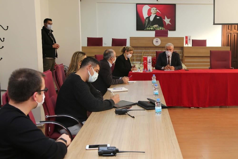 Deprem Komisyonu Efeler'de çalışmalara başladı