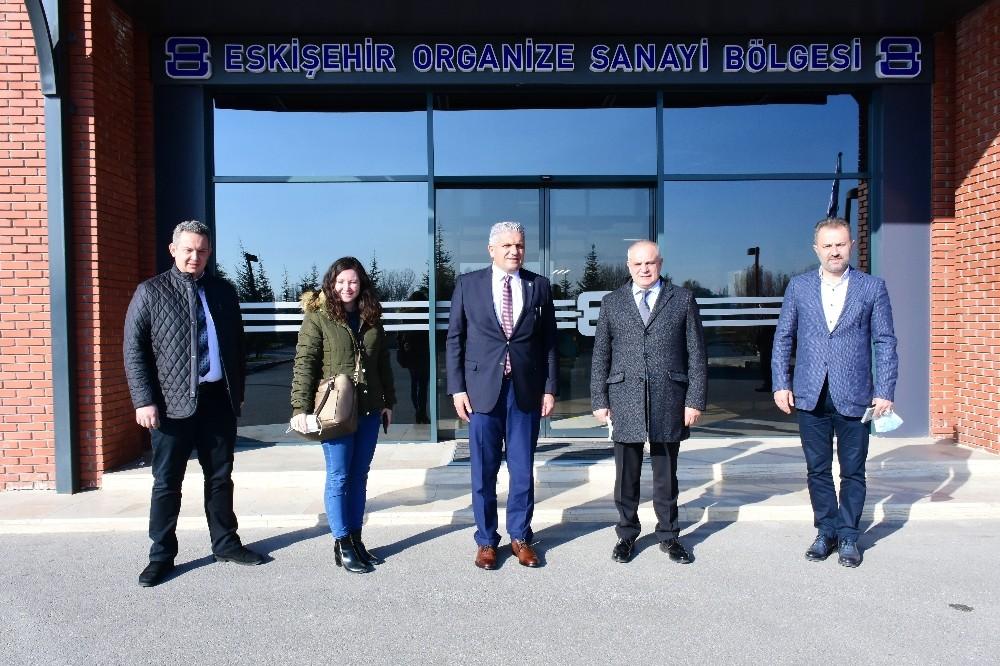 DEVA Partisi'nden EOSB'ye ziyaret