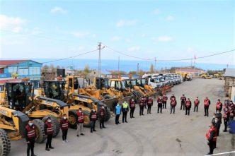 Edremit Belediyesi kışa hazır