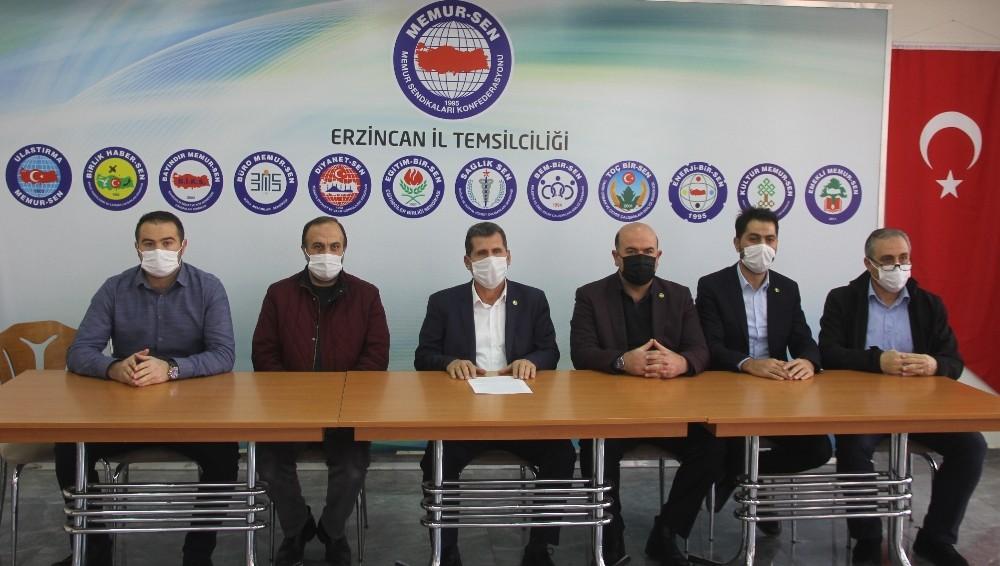 """Eğitim-Bir-Sen Erzincan 1 nolu Şube Başkanı Nebi Gül: """"Mustafa Kul şehrinden ve öğretmenlerden özür dilemelidir"""""""