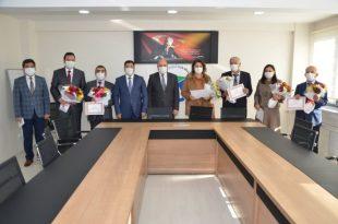 Ereğli'de 24 Kasım Öğretmenler Günü kutlandı