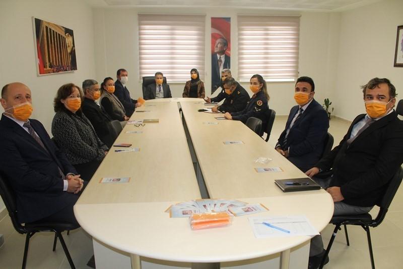 Ergene'de kadına yönelik şiddetle mücadele toplantısı