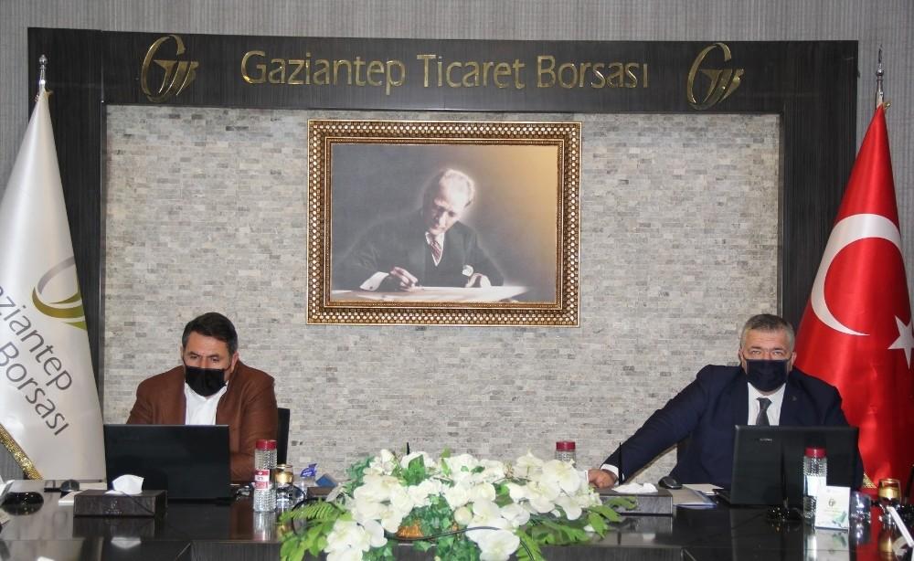 Gaziantep Ticaret Borsası Video Konferansla Toplandı