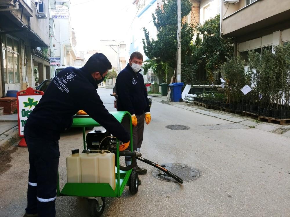 Bursa Haşerelere Karşı Mücadele Başlattı