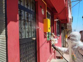 Samsun'da Dezenfekte Çalışmaları
