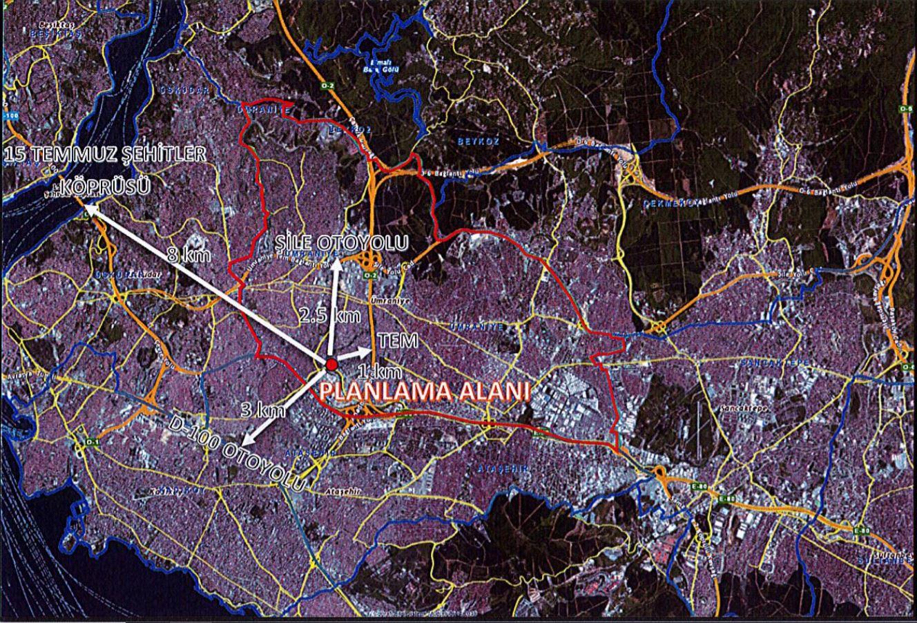 İstanbul Ümraniye Çakmak Mahallesi İmar Planı Değişikliği